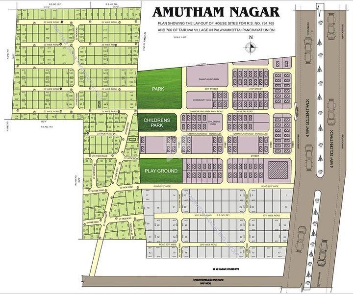 Adura Amutham Nagar - Master Plans