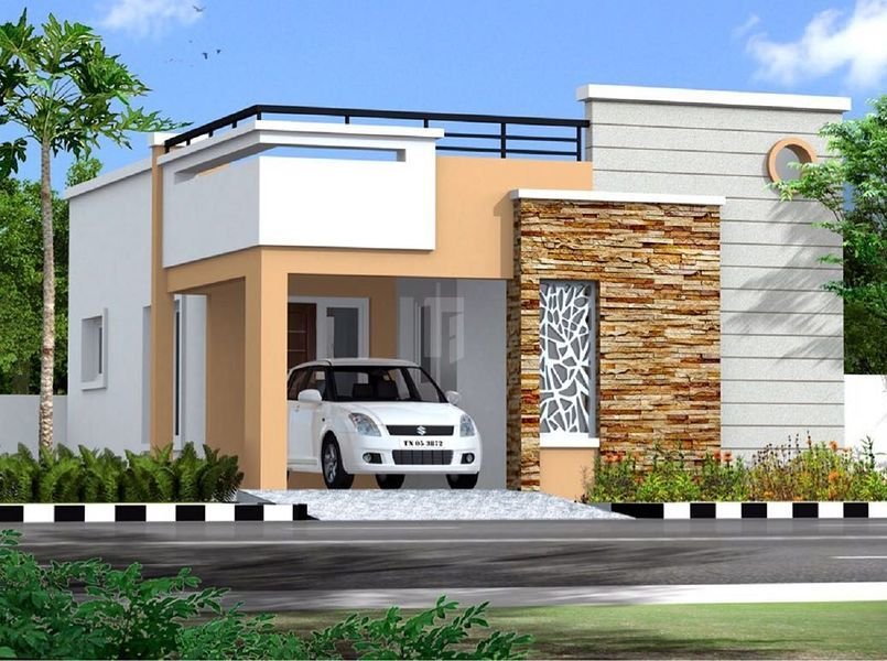 VHS Agaramthen Villas - Elevation Photo