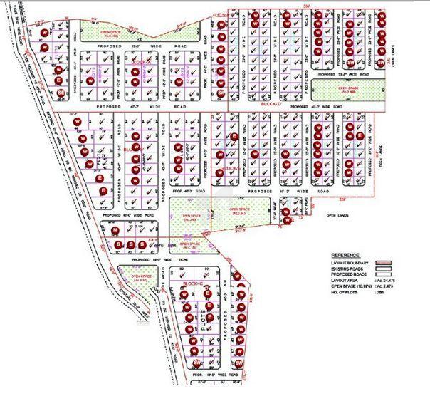 Suvarnabhoomi's Suvarnakuteer Shadnagar - Master Plan