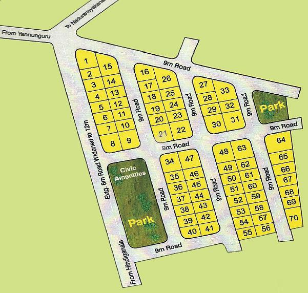 Nava Nakshatra Silicon Homes - Master Plans