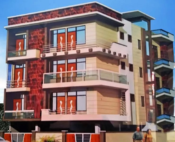 Krishna Apartment 3 - Project Images