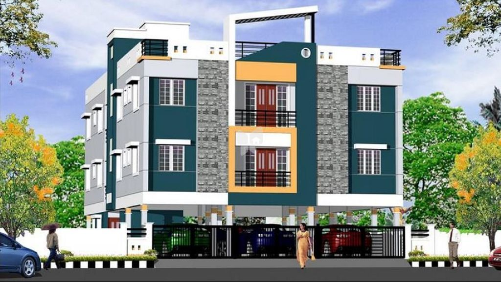 Krishna Apartment - Elevation Photo