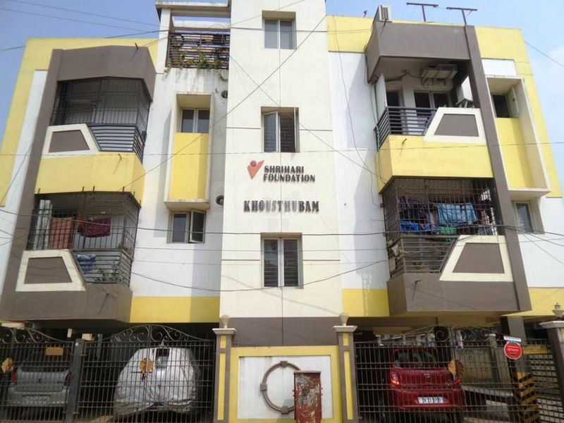 Elevation | Shrihari Khousthubam In Mogappair West, ...