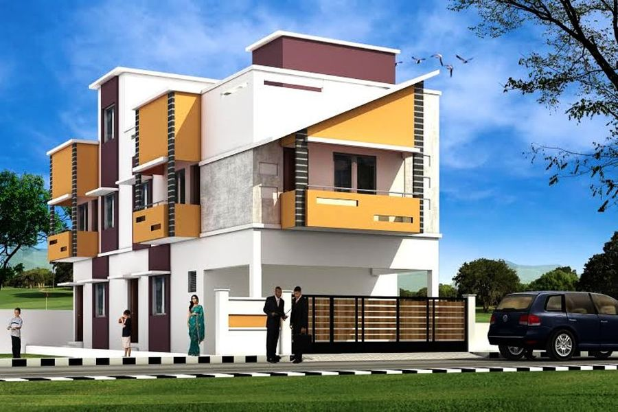 Home Front Elevation In Chennai : Sree sai elegant in madambakkam chennai roofandfloor