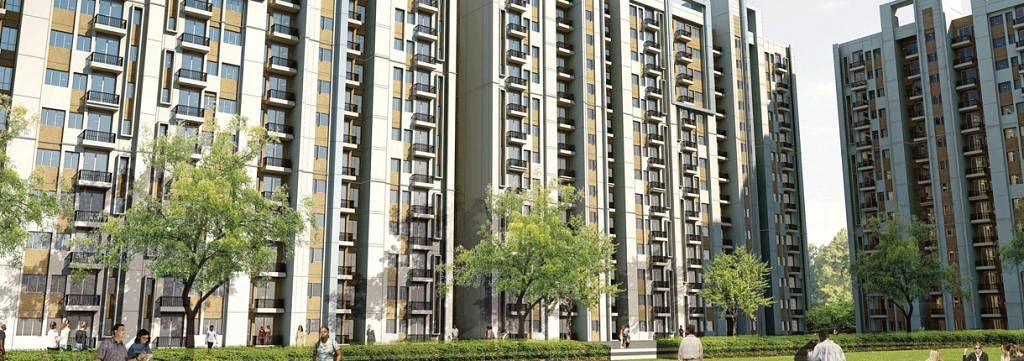 Unitech Gardens - Elevation Photo