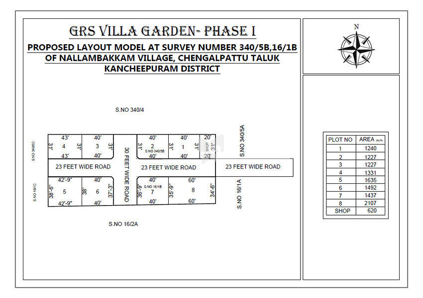 GRS Villa Garden Phase I - Master Plans