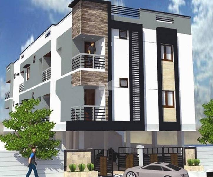 AV Constructions Vijayam - Elevation Photo