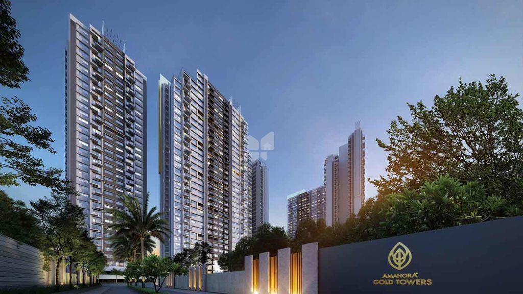 Amanora Gold Towers - Project Images