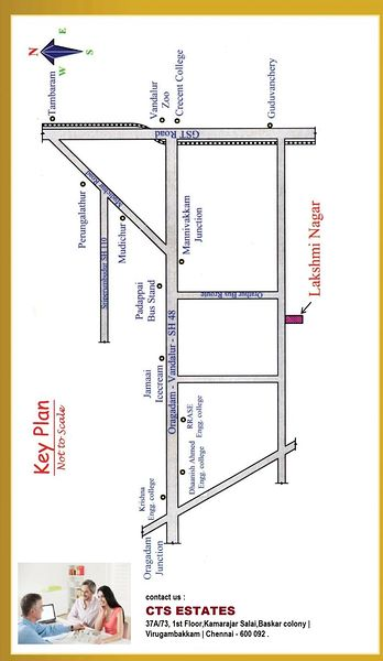 CTS Lakshmi Nagar - Location Maps