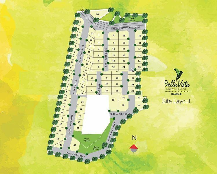 Indo Asian Bella Vista Sector 6 - Master Plans