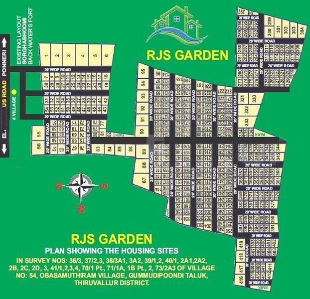JS Paradise RJS Garden - Master Plans