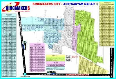 Kingmakers Aiswaryam Nagar - Master Plans