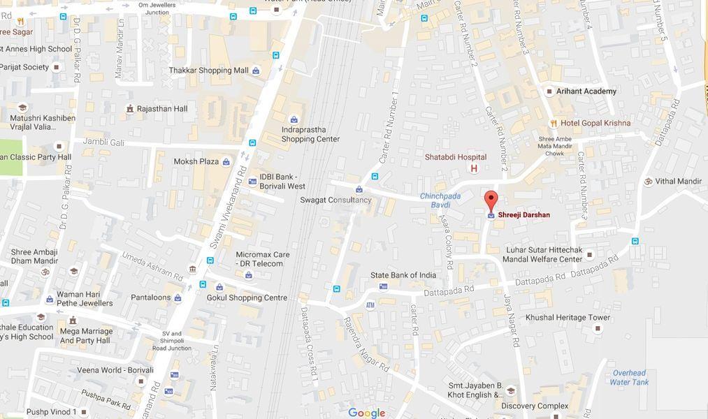 Dattani Shreeji Darshan - Location Map
