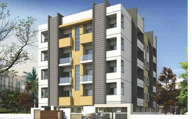 A and T Teja Residency - Elevation Photo