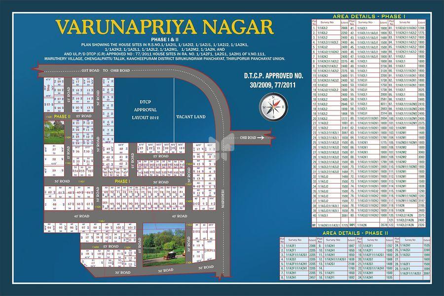 Varunapriya Nagar - Master Plans