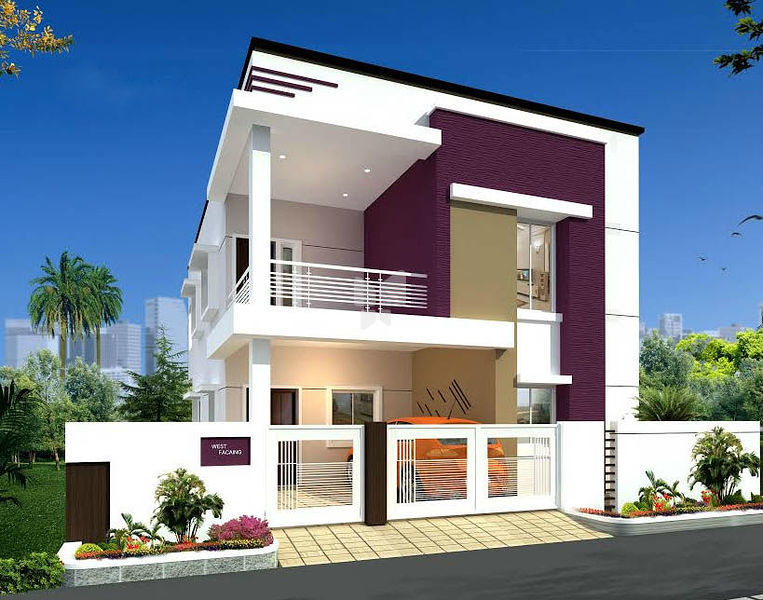 Duplex India moreover Front Elevation Of East Facing House In India ...