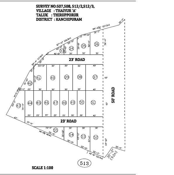 Anandam Green Avenue - Master Plan