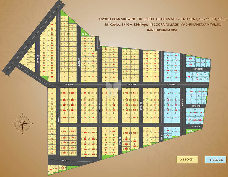 Vip City Padalam - Master Plan