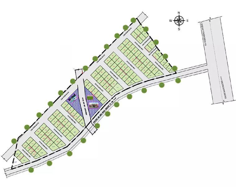 Surya Paradise Phase II - Master Plans