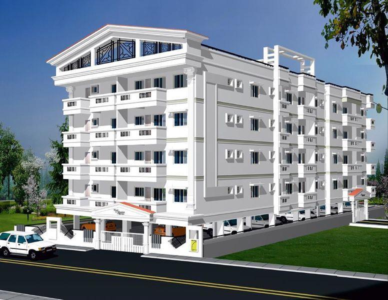 elevation opera white house in gottigere bangalore