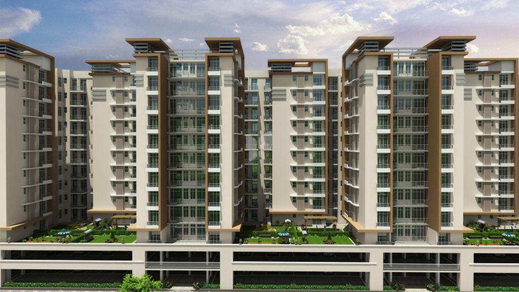 Ansal API Crescent Residences - Elevation Photo