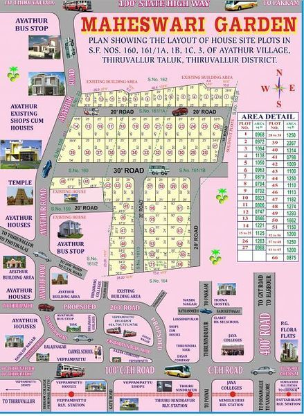 Santha Homes Maheswari Garden - Master Plans