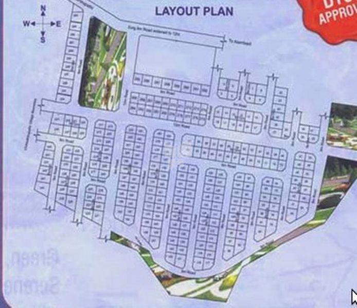 Charigans Aravind Green Fields - Master Plans