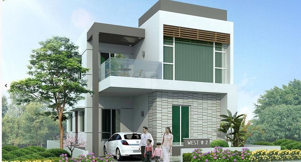 Mahidhara Fortune City - Elevation Photo