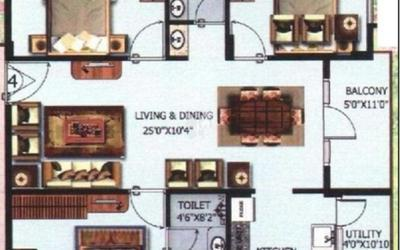 vasudhaa-raja-gruha-in-hsr-layout-7th-sector-floor-plan-2d-q2f