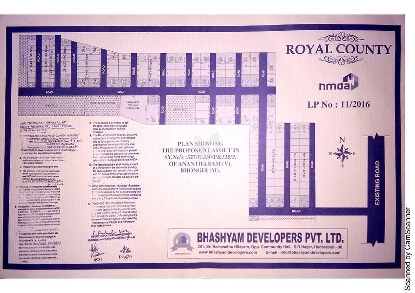 Bhashyam Royal County - Master Plans