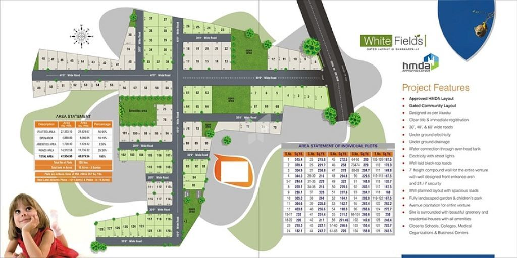 Moorthy White Fields - Master Plans