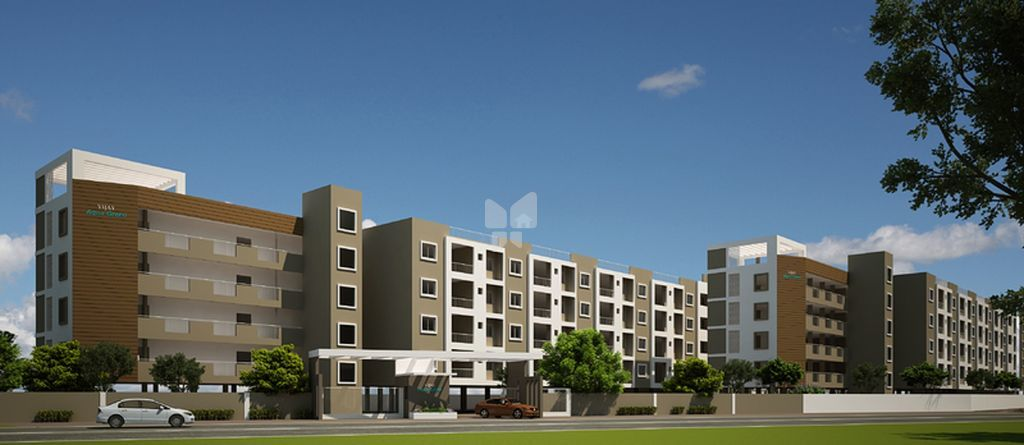 Vijaya Aqua Green - Elevation Photo