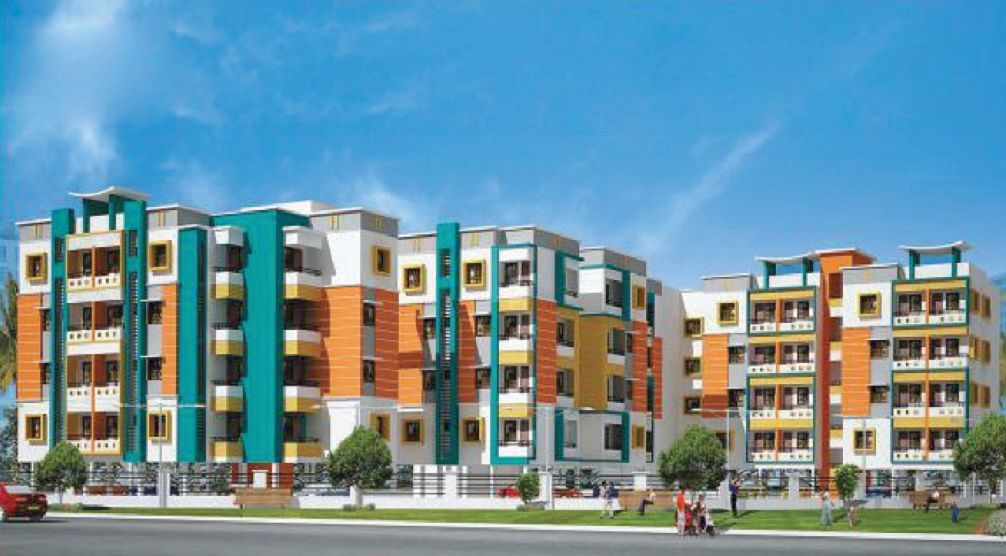 Aadinath CC Majestic Enclave - Elevation Photo