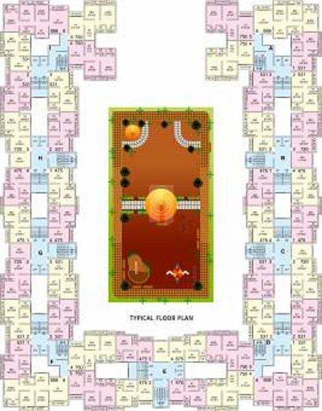 Rashmi Smaart Homes Naigaon - Floor plan