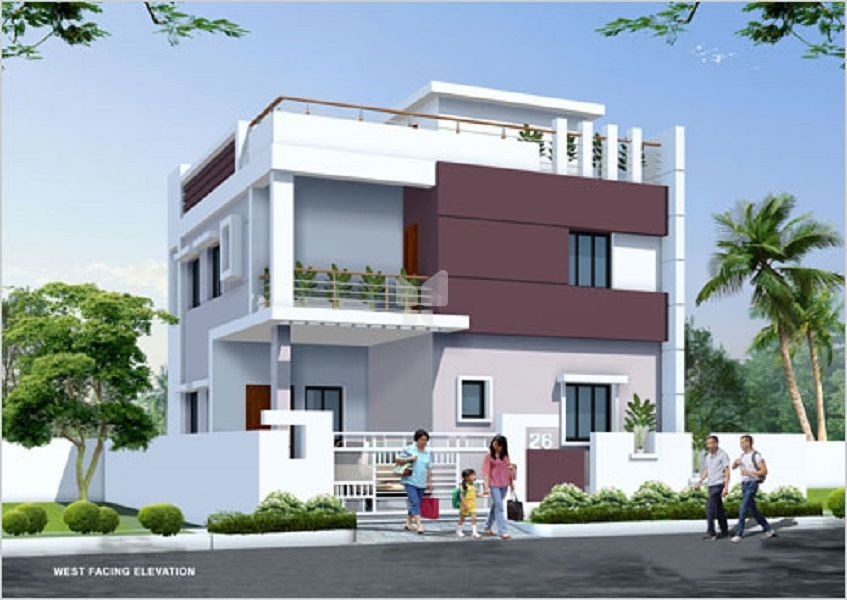 ARR Kaveri Homes - Elevation Photo