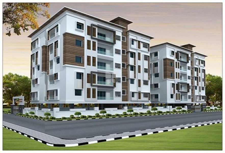 Shresta Estates Apartment - Elevation Photo