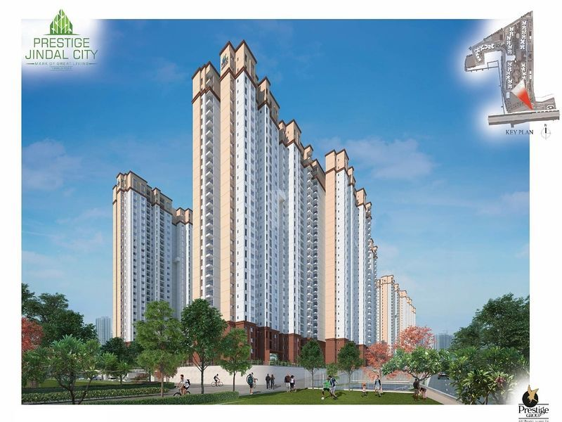 Prestige Jindal City - Elevation Photo