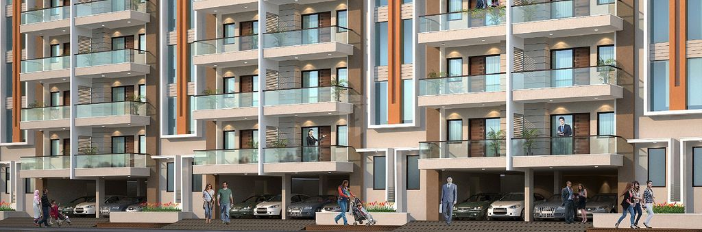 Amolik Residency Apartment - Project Images