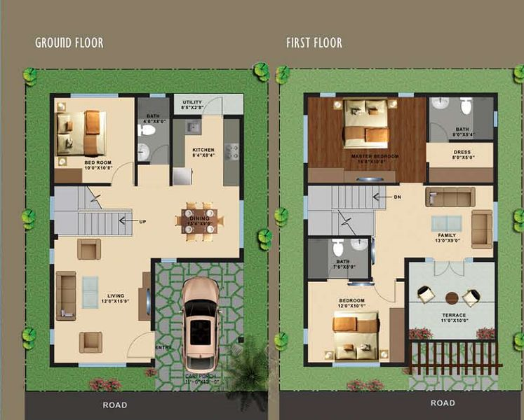 ... Indian House Plans For 1200 Sq Ft By 1000 Sq Ft House Plans 2 Bedroom  East ...