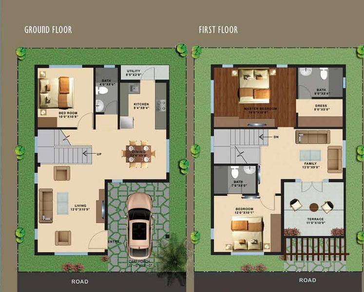Top Of Bottom Floor Elevation Certificate : Heritage county in sarjapur bangalore price floor