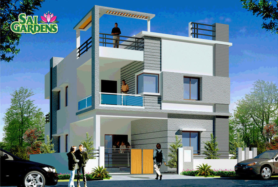 Front Elevation Two Storey Building In Hyderabad : Elevation designs for floors in hyderabad joy studio