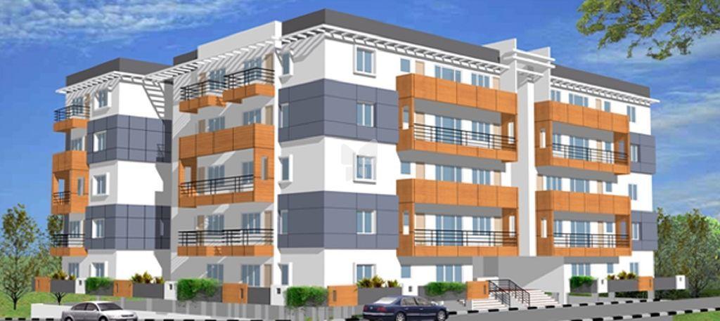 Bhagini Sapathagiri Nagar - Apartments - Elevation Photo