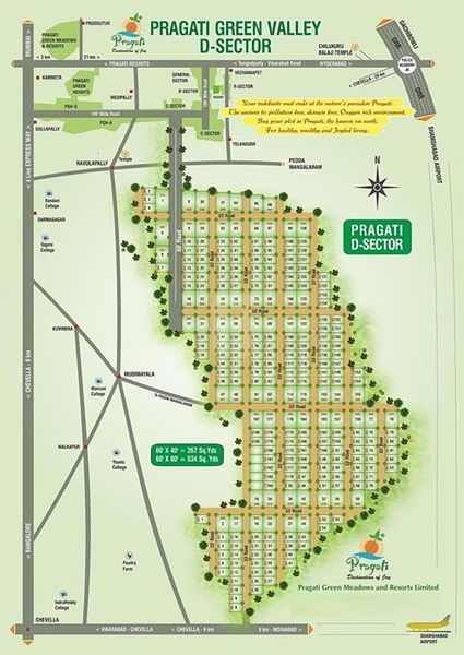 Pragati Green Valley D Sector - Master Plans
