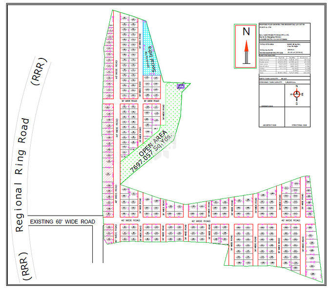 Sark Green Lake View - Master Plan