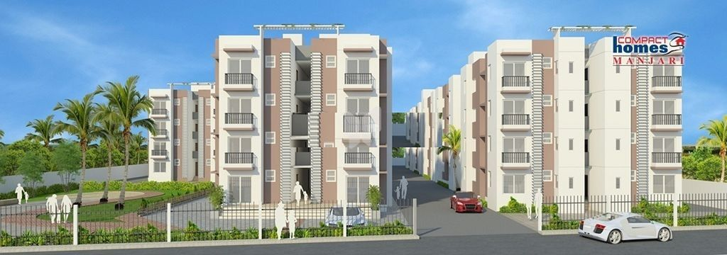 Arun Excello Compact Homes Manjari - Elevation Photo