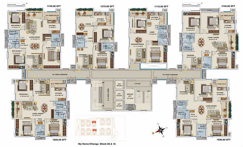 my home vihanga in adibatla floor plan bcw my home abhra floor plan home design and style,Floor Plans For My Home