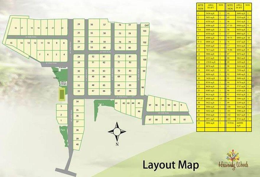 Golden Heavenly Woods Phase 2 - Master Plan