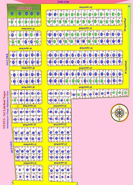 SKM Venus Sri Lakshmi Nagar - Master Plans
