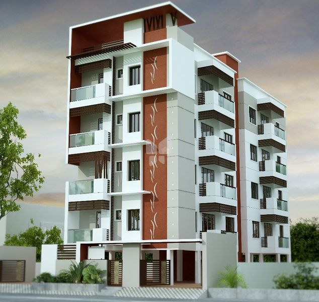 Four floor building elevation thefloors co for Apartment house plans india
