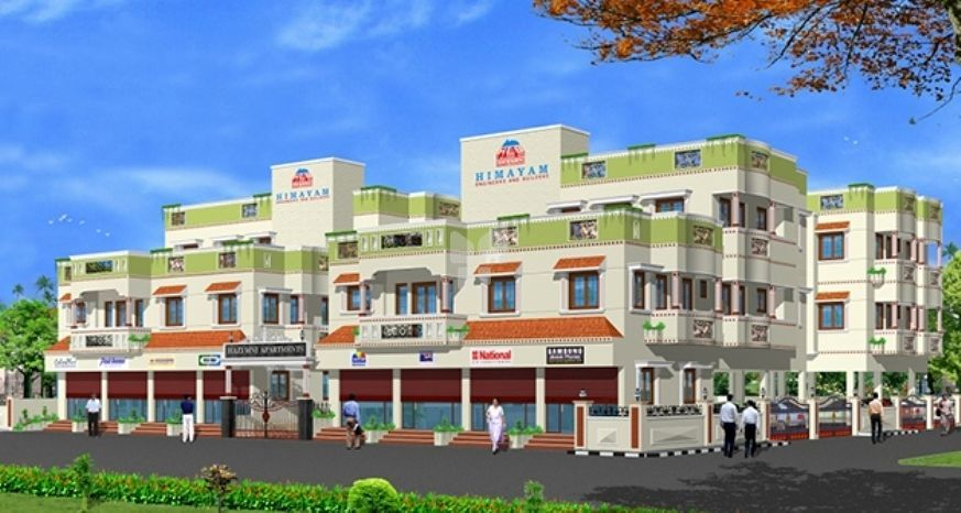 Himayam MNI Apartments - Elevation Photo